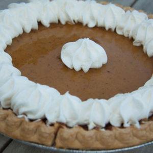 Orr's Pumpkin Pie