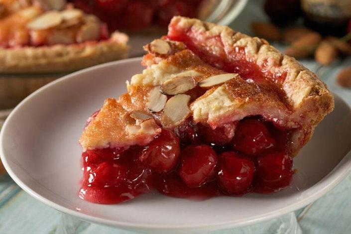 Cherry Vanilla Pie